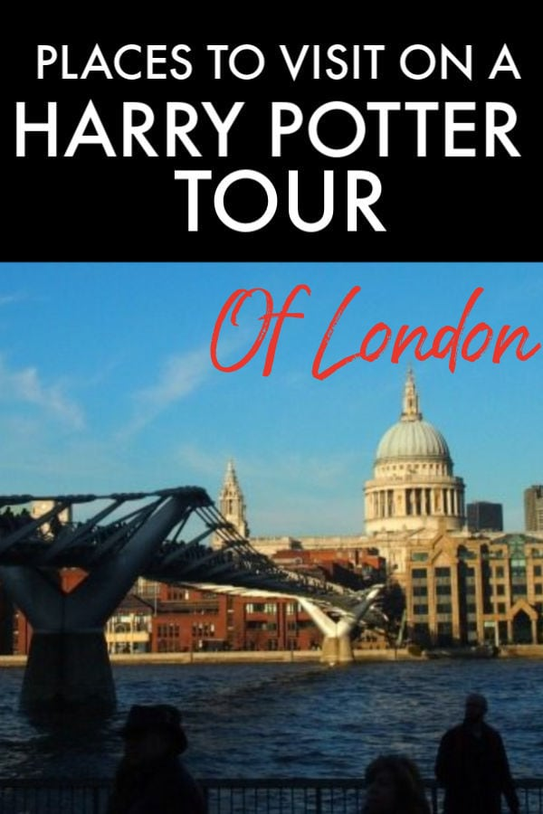 Places to Visit on a Harry Potter Tour of London