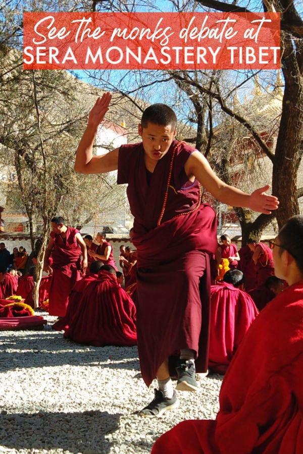 See the monks debate at Sera Monastery Tibet