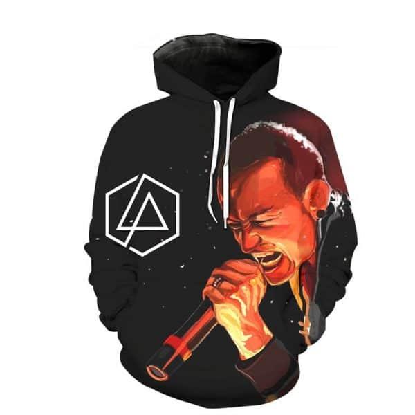 Chill Hoodies Chester Bennington Hoodie Linkin Park Unisex Adult Sweatshirt