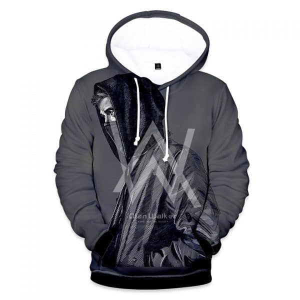 Chill Hoodies Gray Alan Walker Hoodie Unisex Adult Sweatshirt
