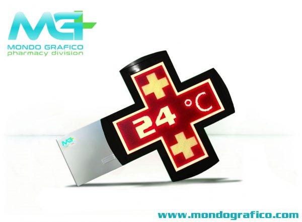 Croce Led Red HD 60