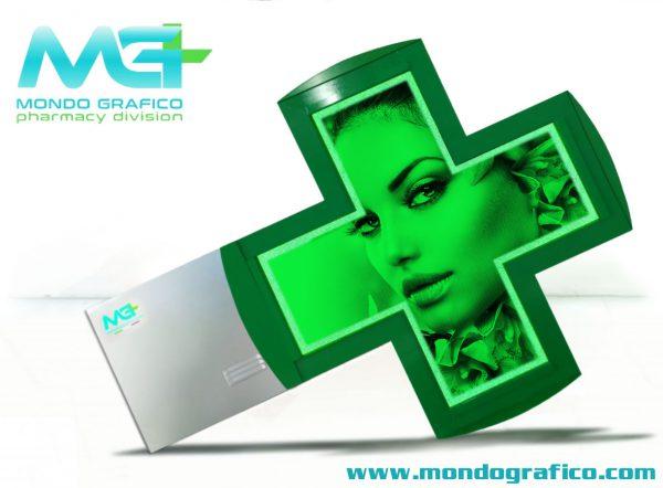 Croce Led Green HD 90