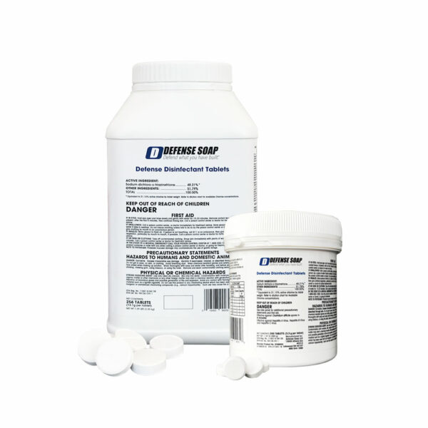 Defense Disinfectant Tablets