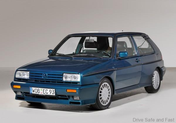 Volkswagen Golf Mk2 Rallye G60