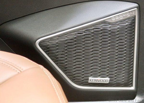 Proton X70 Kenwood Sound System