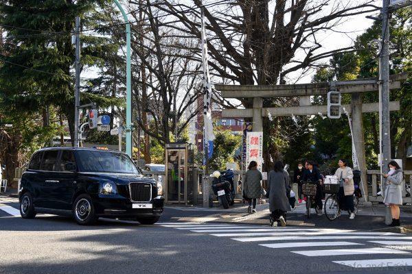 TX Black Cab in Japan