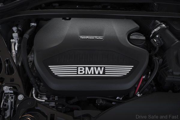 BMW 2 Series Gran Coupe engine