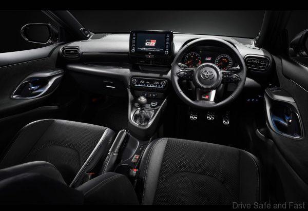 Toyota Yaris GR Cabin