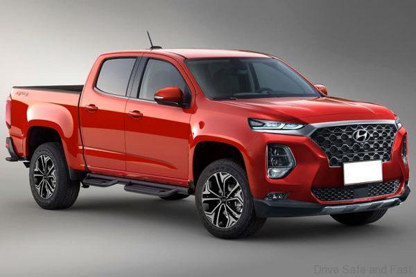 Hyundai Santa Cruz Pickup Truck 2021