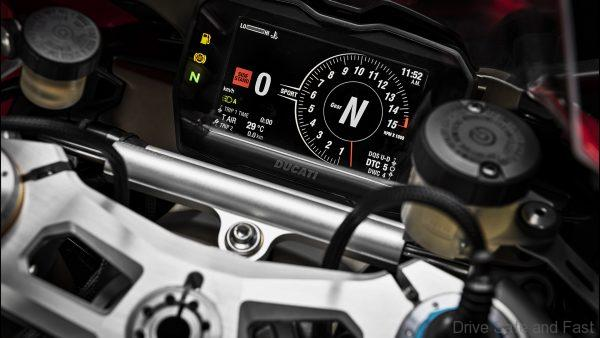 Modern Motorcycle instruments