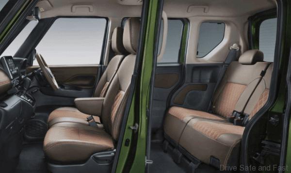 Mitsubishi New Super Height Kei Wagon eK X