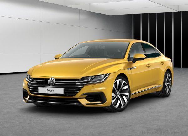 Volkswagen Arteon 2020 model with 272PS