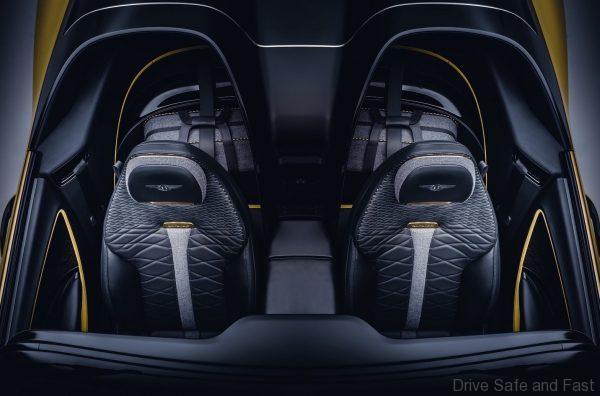 Bentley Mulliner Bacalar seats