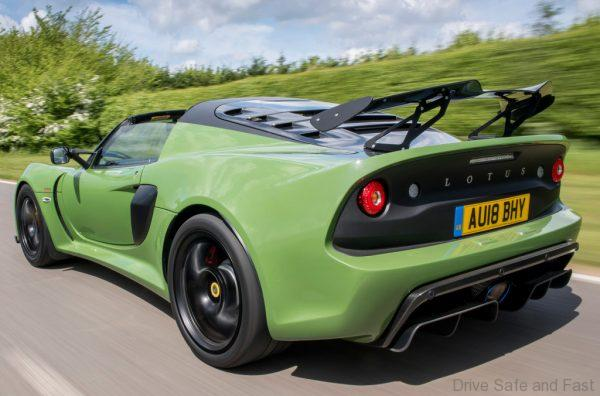 Lotus Exige Sport 410 roadster