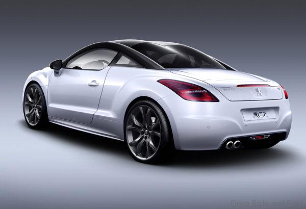 Peugeot RCZ rear view