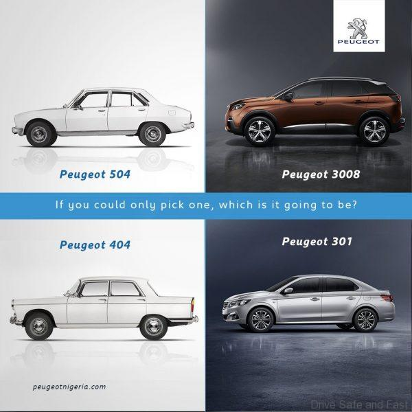 Peugeot awards winners