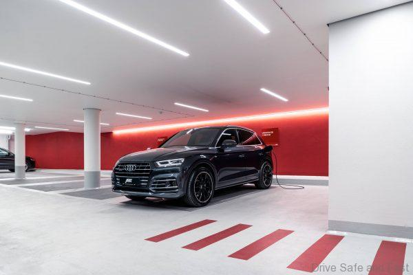 Abt Tuned Audi Q5 Hybrid 55 TFSI e nose