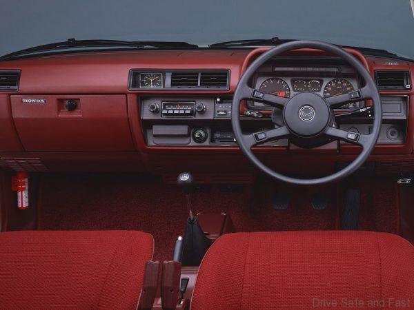 1976 Honda Accord cabin