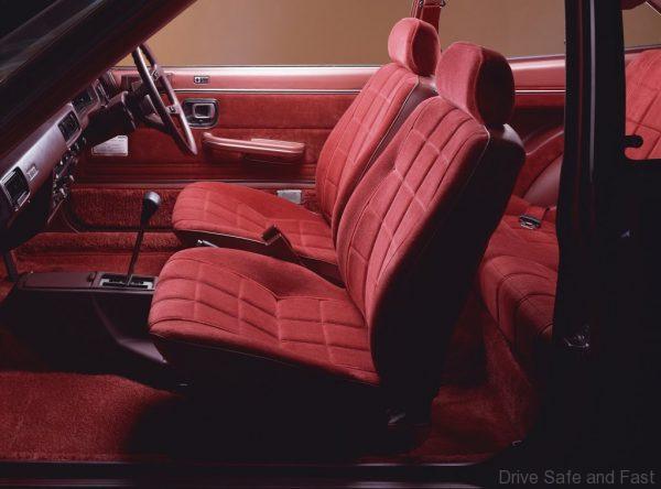 1976 Honda Accord hatchback cabin
