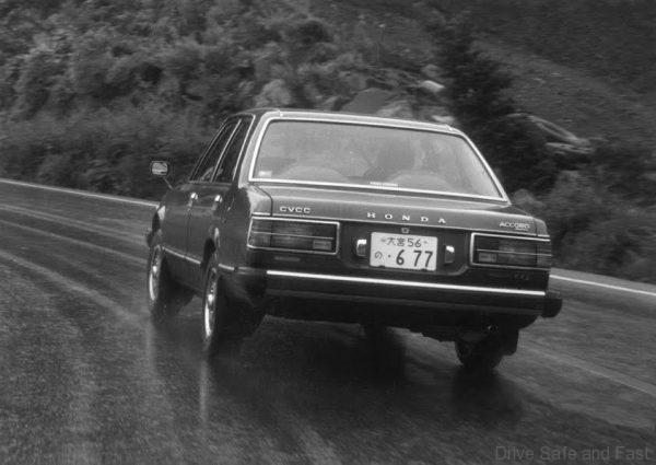 1977 Honda Accord sedan CVCC