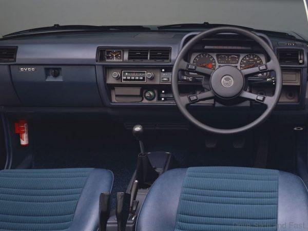 1976 Honda Accord dashboard