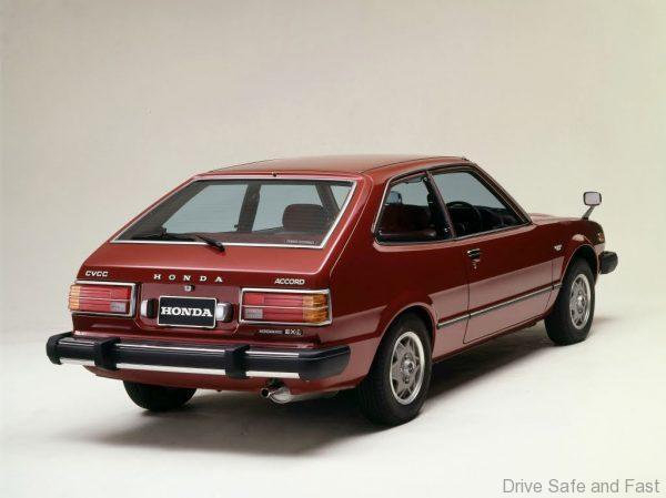 1976 Honda Accord hatchback rear