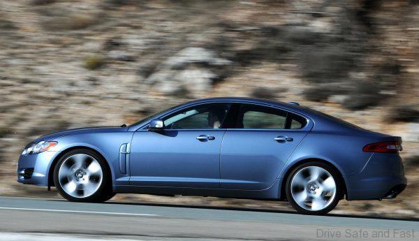 Jaguar XF 2008-2010 side view