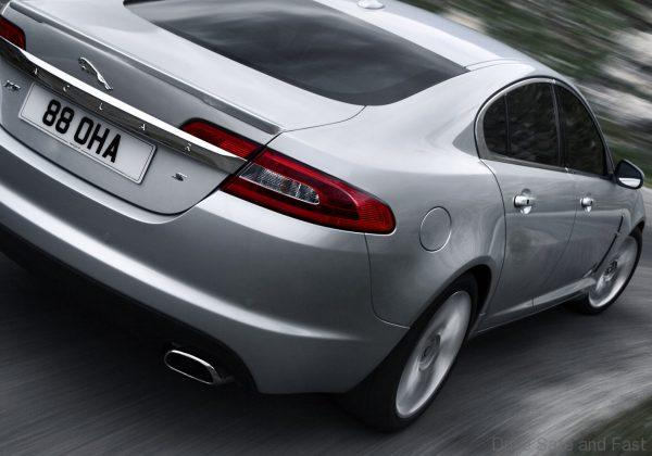 Jaguar XF 2008-2010 rear