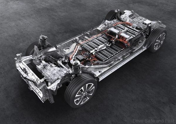 Lexus UX 300e 288-cell lithium-ion battery pack