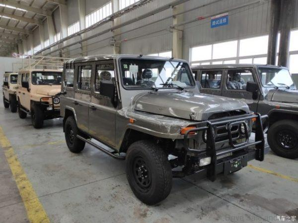 BJ212 in the factory
