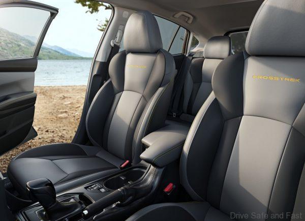 Subaru XV 2021 front seats