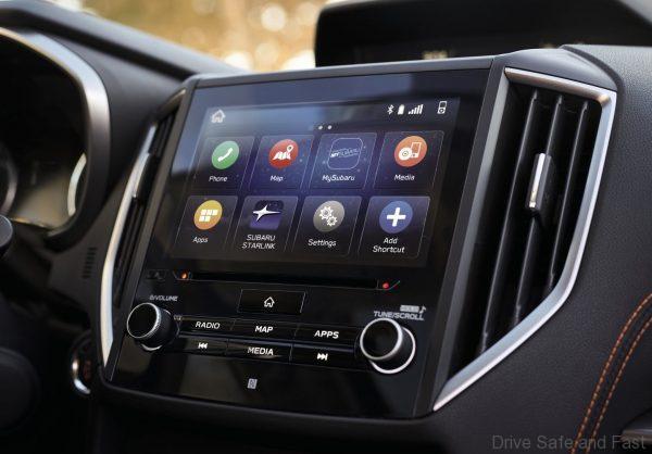 Subaru XV 2021 infotainment