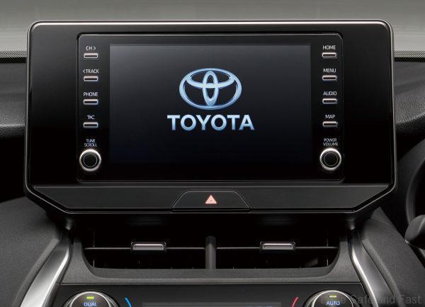 Toyota Harrier 2021 Model_radio