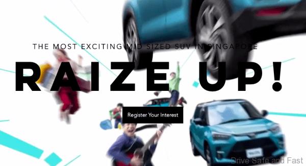 Toyota Raize advertisement