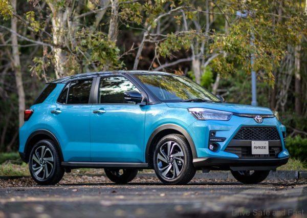 2020 Toyota Raize SUV front