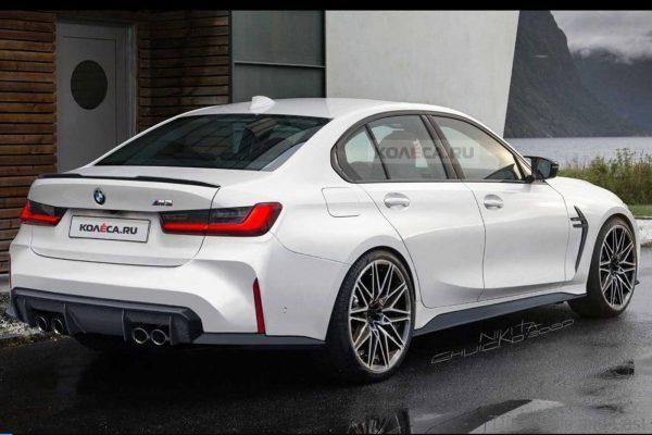 2021 BMW M3-Rendering