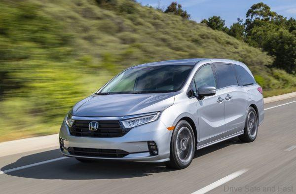 2020 Honda Odyssey Facelift Launched