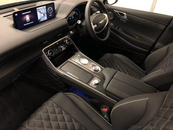 Genesis GV80 steering