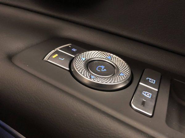 Genesis GV80 door panel