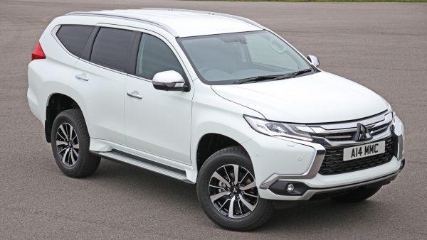 Mitsubishi Commercial Pajero Sport SUV_front