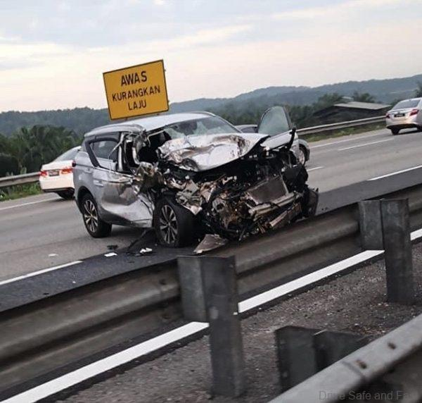 Proton X70 highly accident