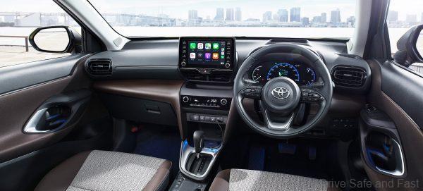Toyota Yaris Cross instruments