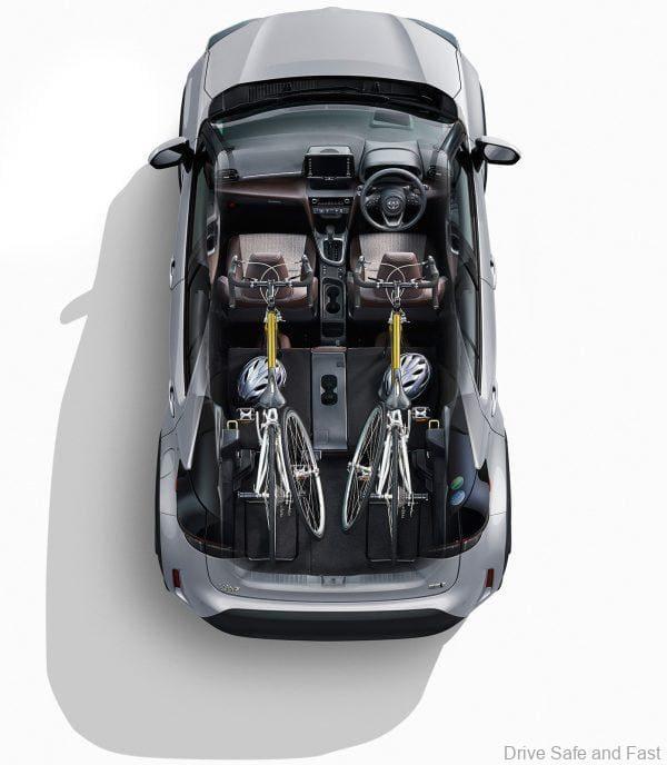 Toyota Yaris Cross rear luggage