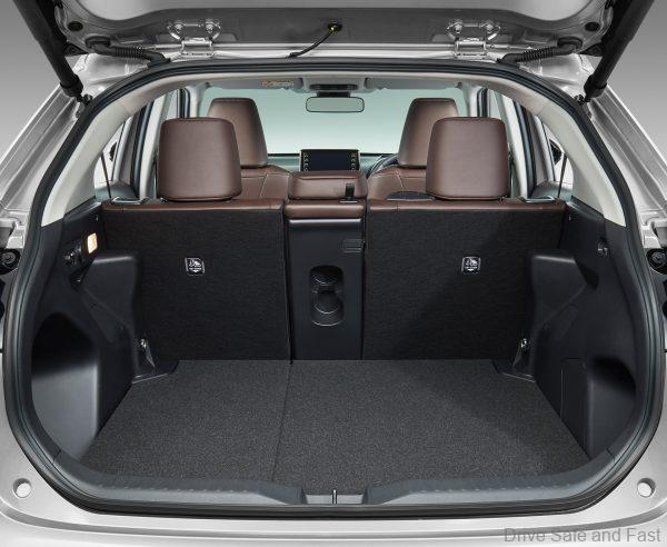 Toyota Yaris Cross luggage space