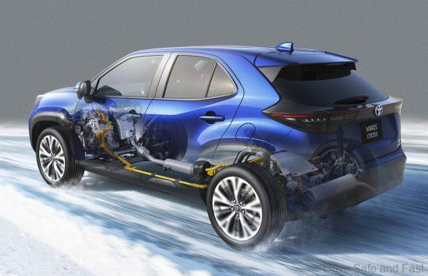 Toyota Yaris Cross hybrid drive system