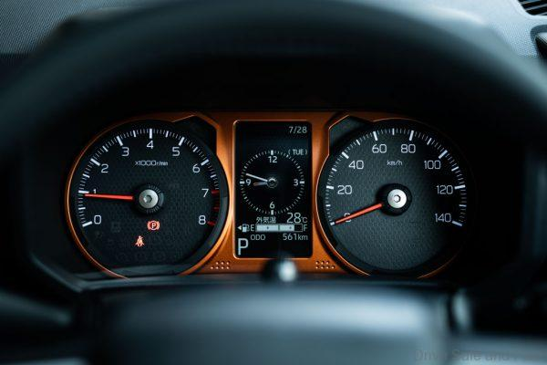 Daihatsu Taft Crossover cockpit
