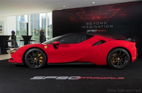 Ferrari SF90 Stradale Hybrid Supercar_launch