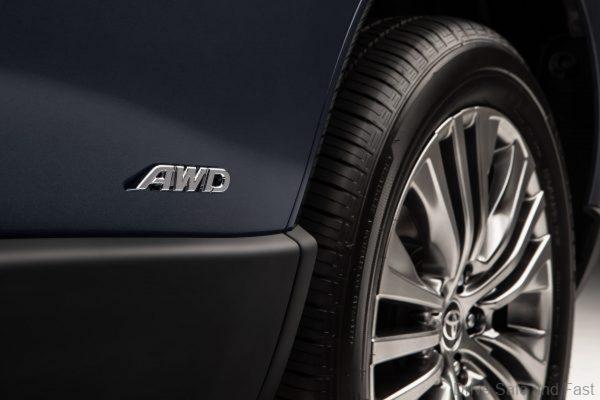 Toyota Venza_all wheel drive