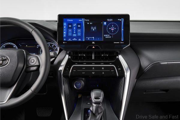 Toyota Venza_infotaiment system