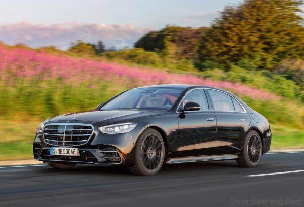 Mercedes-Benz S-Class 2021_front